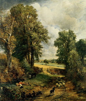 Reprodução do quadro The Cornfield, 1826