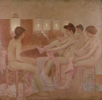 Reprodução do quadro The Dancers, 1905-09