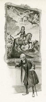 Reprodução do quadro The Duke of Marlborough as an old man