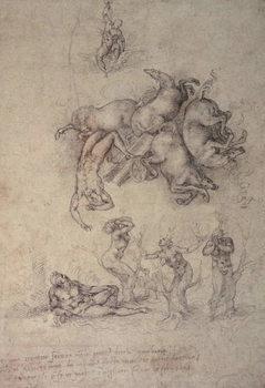 Reprodução do quadro The Fall of Phaethon, 1533