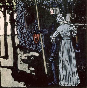 Reprodução do quadro The Farewell, 1903