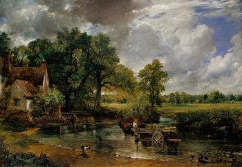 Reprodução do quadro The Hay Wain, 1821