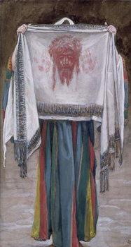 Reprodução do quadro The Holy Face, illustration for 'The Life of Christ', c.1884-96