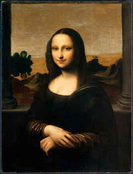 Reprodução do quadro The Isleworth Mona Lisa