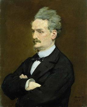 Reprodução do quadro The Journalist Henri Rochefort (1830-1913), 1881