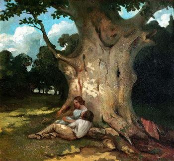 Reprodução do quadro The Large Oak