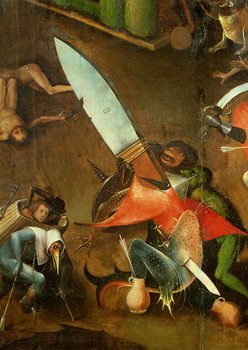 Reprodução do quadro The Last Judgement : Detail of the Dagger