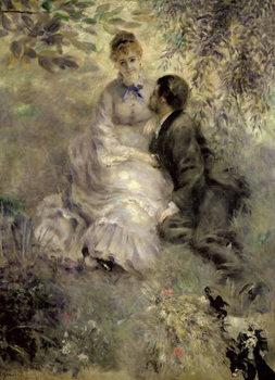 Reprodução do quadro The Lovers, c.1875