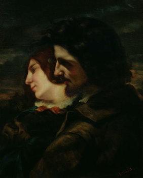 Reprodução do quadro The Lovers in the Countryside, after 1844