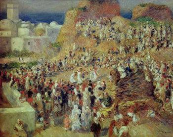 Reprodução do quadro The Mosque, or Arab Festival, 1881