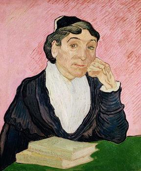 Reprodução do quadro The woman from Arles, 1890