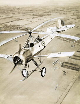 Reprodução do quadro This Made News: The Windmill Plane