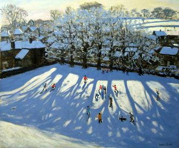Reprodução do quadro Tideswell Derbyshire