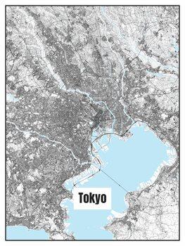 Mapa de Tokyo