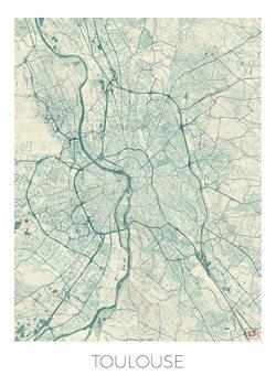 Mapa Toulouse
