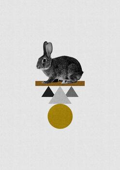 Ilustração Tribal Rabbit