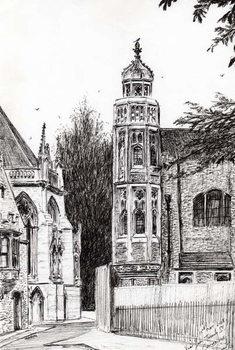 Reprodução do quadro Trinity Street Cambridge, 2008,
