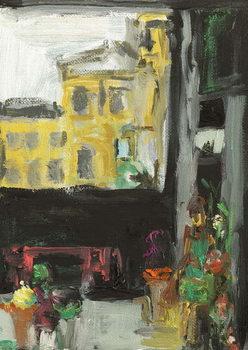 Reprodução do quadro Under The Bridge-The Florist, 2014,