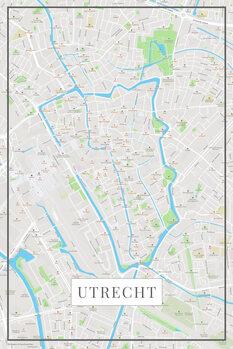 Mapa de Utrecht color