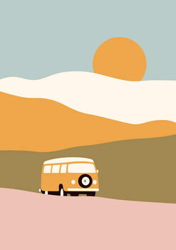 Reprodução do quadro Van Trip