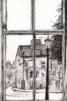 Reprodução do quadro View from Old Hall Hotel Buxton, 2009,
