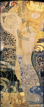 Reprodução do quadro Water Serpents I, 1904-07