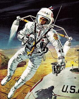 Reprodução do quadro Will Mars Be Like This?