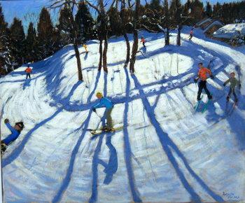 Reprodução do quadro Winding Trail, Morzine
