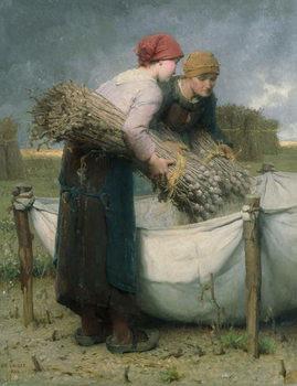 Reprodução do quadro Women in the Field, 1882