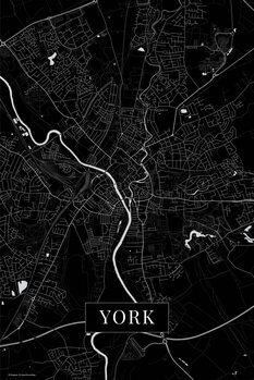 Mapa de York black