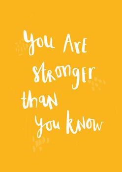 Ilustração You are stronger than you know