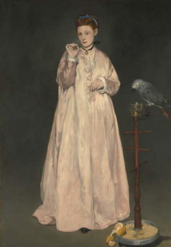 Reprodução do quadro Young lady in 1866