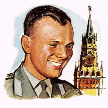 Reprodução do quadro Yuri Gagarin