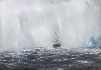 Reprodução do quadro  65 Degrees, 8 Minutes South.Terra Nova 9th Dec.1910. 2007,