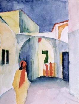 Reprodução do quadro A Glance Down an Alley