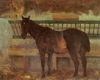 Reprodução do quadro  A Stud from the Town of Saintes, 1863
