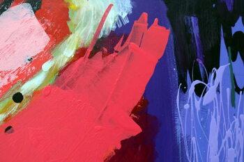 Reprodução do quadro abstract 10