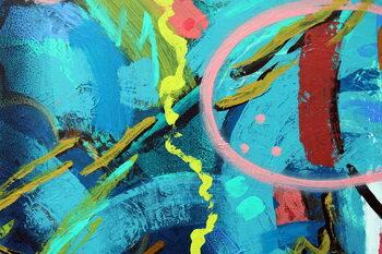 Reprodução do quadro abstract 23