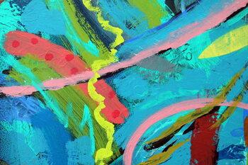 Reprodução do quadro abstract 25