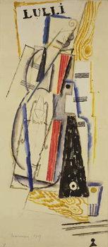 Reprodução do quadro Abstract Lulli, 1919