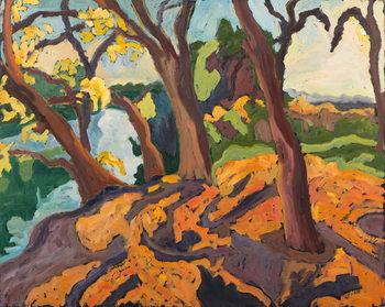 Reprodução do quadro Ageing trees, 2009