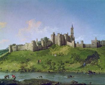 Reprodução do quadro  Alnwick Castle