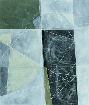 Reprodução do quadro Ancient Landscape, 1982