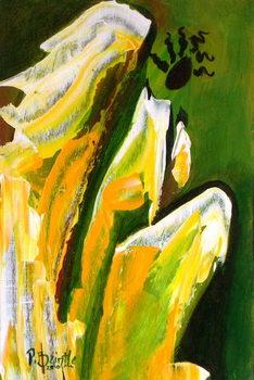 Reprodução do quadro  Angel of Reverence, 2010