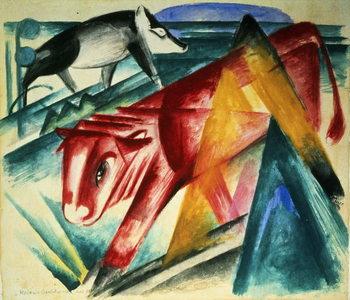 Reprodução do quadro  Animals, 1913