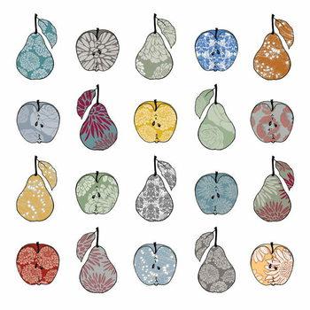Reprodução do quadro Apples and Pears, 2012
