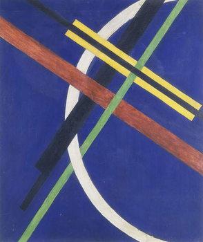 Reprodução do quadro Architektur I, 1922