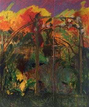 Reprodução do quadro  Autumn Garden, 2012-14,