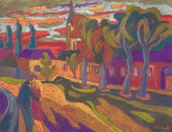 Reprodução do quadro  Autumn Love, 2008