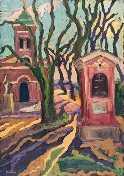 Reprodução do quadro Away from the Noise of the World, 2005